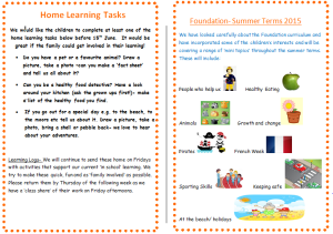 f home learning