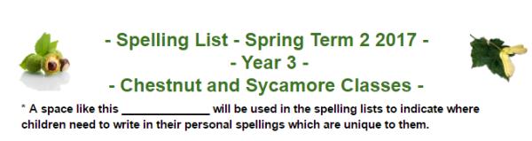 yr3-spell